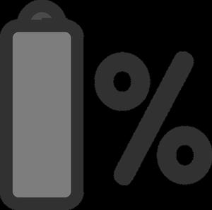 akkumulátor töltés - hány százalék?