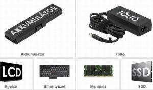 Laptop szerviz és webáruház