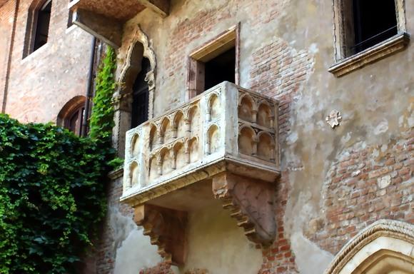 be nem épített erkély - verona