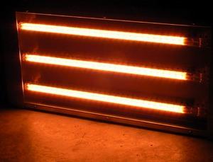rövidhullámú infrasugárzó